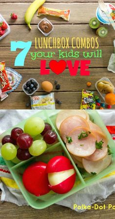 7 #LunchBox Combos Kids Will Love! #naturevalley #yoplait  #fiberone