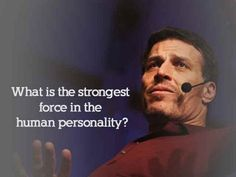 Are You Sabotaging Yourself? Tony Robbins describes the strongest force in the human personality. - YouTube