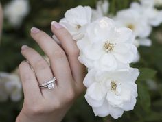 Real-Girl Ways to Style Your Wedding Band from #InStyle