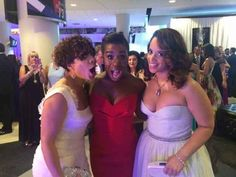 """""""Backstage at the Emmys with the Spanish Harlem girls of Orange : Selenis Leyva (Gloria) and Dascha Polanco (Dayanara)!""""   Behind The Scenes With Uzo Aduba At Her First Emmys"""