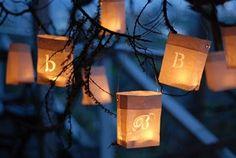 I love these paper lanterns!