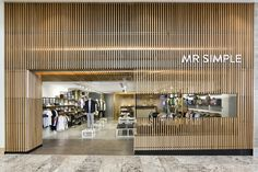 Mr Simple store by Prospace Design Studios, Brisbane   Australia fashion