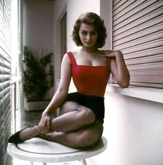 Sophia Loren..as a young italian American girl growing up in the 60's she was one of my idols.