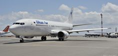 "Blue Air Boeing 737-400 - cn 25147 / ln 2043 YR-BAT Aircraft Type Boeing 737-400 First Flight *Apr 1991 Age 24.2 Years Engines 2x CFM56-3 Heraklion International Airport, ""Nikos Kazantzakis"" (IATA: HER, ICAO: LGIR)"