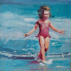 Giddy - Beach scene by Robin Cheers
