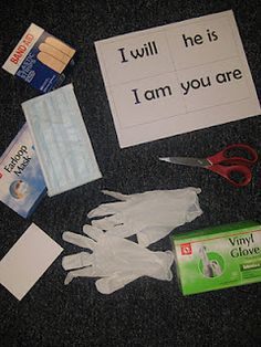 First Grade Wow: Word Surgery for teaching contractions.