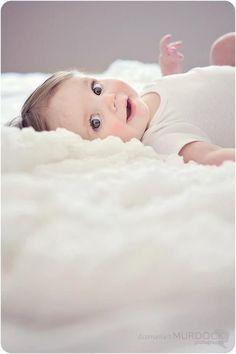 Love the laying on clouds effect! 6 months @Summer Olsen Olsen Olsen Olsen Murdock Photography