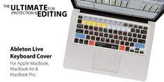 Ableton Live MacBook Keyboard Cover Skin