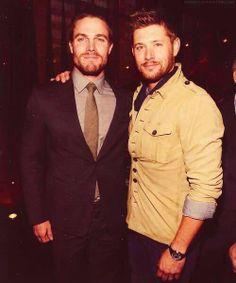 Jensen Ackles & Stephen Amell