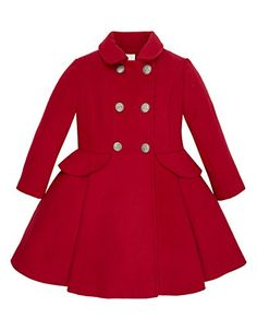 49 Ideas For Moda Infantil Meninas Inverno Childrens Coats, Kids Coats, Baby Girl Fashion, Toddler Fashion, Kids Fashion, Little Girl Dresses, Girls Dresses, Baby Coat, Free Clothes