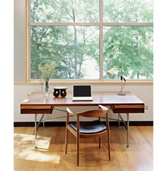 I'd like to have a big window and trees outside for my work space