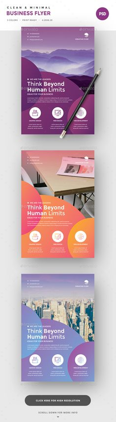 Colorful Corporate Flyers