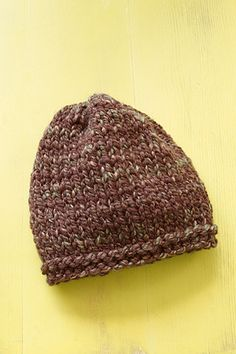 Basic Hat in Lion Brand Wool-Ease Thick & Quick - L0410AD