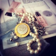 Earn your Pearls of sharing by sharing the blessings of a Mary Kay business.  Ask your Director how...