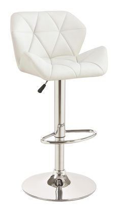 Coaster Dining Chairs and Bar Stools Adjustable Stool w/ Chrome Base - Coaster Fine Furniture