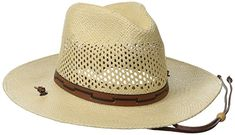 Stetson Men s Stetson Airway Vented Panama Straw Hat Review Stetson Hats  For Men 09b983bd507e0