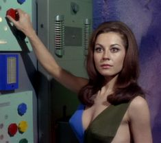 Sherry Jackson as android Andrea in the Star Trek episode What are Little Girls Made Of? which originally aired in Image Source Star Trek 1966, Star Trek Tv, Star Wars, Star Trek Ships, Star Trek Cosplay, Akira, Sherry Jackson, Ufo Tv Series, Start Trek