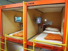 Capsule Hostel in China Town, Singapore 30 SGD/night WokeHome Hostel