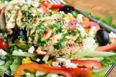 Greek Chicken Salad 5