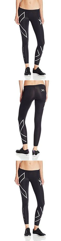 Compression and Base Layers 179822: 2Xu Women S Compression Tights Black Silver Logo Small Womens Running Compressio -> BUY IT NOW ONLY: $165 on eBay!