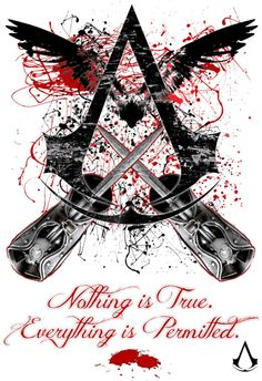 JNinja DeviantArt AC Design Nothing Is True Everything
