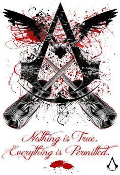 "JNinja (DeviantArt): ""AC Design ~ ""Nothing Is True, Everything Is Permitted"""