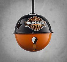 Metal Jingle Bell Ornament Harley-Davidson
