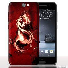 Coque A9 HTC ONE Dragon. #A9 #Dragon #Rouge #Coque #HTCOne