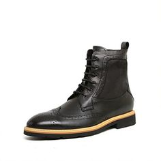 Zorgen Oxfords Boots Genuine Leather Men s Dress Wedding… Oxford Boots 9f95770cfdcf