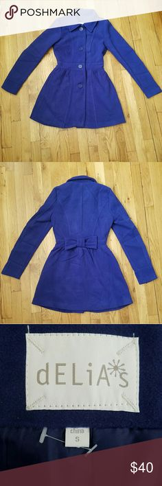 Delias royal blue jacket cute delias royal blue jacket size small new without tag. Delias Jackets & Coats