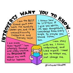 What it looks like to live as an introvert, as told by an introvert.