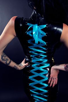Madame Meow Latex Dress by Hypershine on Etsy, $300.00