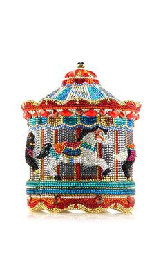 Judith Leiber Carousel clutch...♡