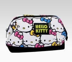Hello Kitty Cosmetic Pouch: Bright Bows