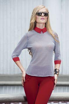 Blusas de silueta amplia muy de moda por estos días!!