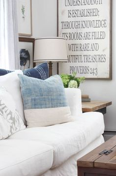 Summer Decor, Farmhouse Living Room | Rooms FOR Rent Blog