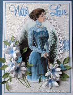 Baukje's Cards and Crafts: Vintage Fashion Cards
