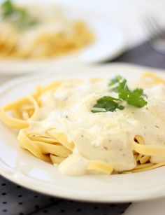 Parmesan Cream Sauce