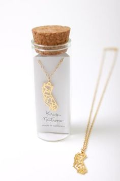 Kris Nations, California State Pride Necklace