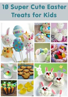 Make your Easter super cute by creating some of these treats for your little ones. Your family will be hopping with excitement when they see these Easter Day.