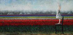 Luna y los tulipanes - Eugenio Cuttica - LQ