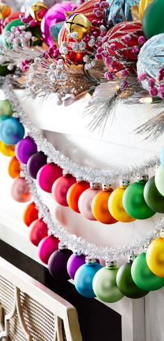 Colorful Christmas Ornaments and Decorations   Buyer Select