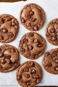 Indulge your sweet tooth with this easy recipe for Double Chocolate Chip Nutella Cookies. The one and only chocolate Nutella cookie you will ever need!
