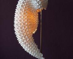 Dragon inspired lamp