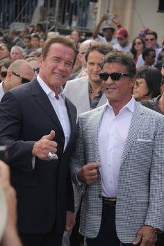 "Arnold Schwarzenegger & Sylvester Stallone ""Terminator Genisys"" Los Angeles Premiere"