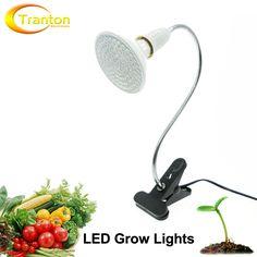 Led 성장 빛 360 유연한 램프 홀더 클립 led 식물 성장 빛 실내 또는 데스크탑 식물.