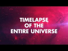 Whether you are into the cosmos or not, the evolution of our universe is a pretty amazing thing! In this short time lapse video created by John Boswell, Suga Twitter, Nasa, Brian Cox, Time Lapse Photography, David Attenborough, The Entire Universe, Big Bang, Carl Sagan, Space And Astronomy