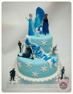 Tarta Frozen impresion comestible 3D