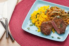 Minute+Steaks+with+Picadillo-Style+Sauce+&+Yellow+Rice.+Visit+https://www.blueapron.com/+to+receive+the+ingredients.