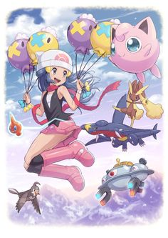 Dawn up in the air Pokemon People, All Pokemon, Pokemon Fan, Cute Pokemon, Pokemon Stuff, Pokemon Comics, Pokemon Memes, Pokemon Backgrounds, Pokemon Waifu